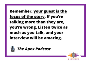 Starting a Podcast Quote 1