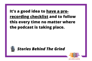 Starting a Podcast Quote 3