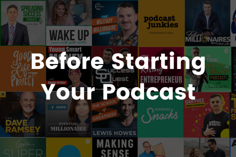 Starting A Podcast