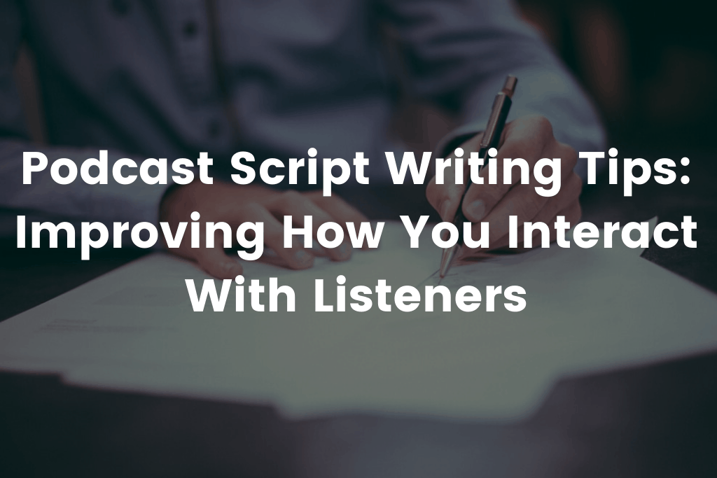 podcast script template