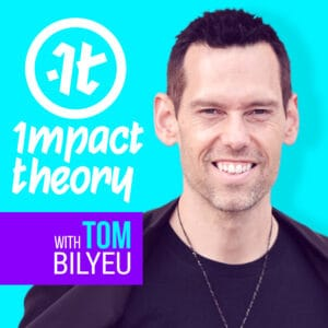 Impact Theory with Tom Bilyeu Podcast logo