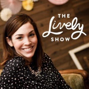 The Lively Show podcast logo